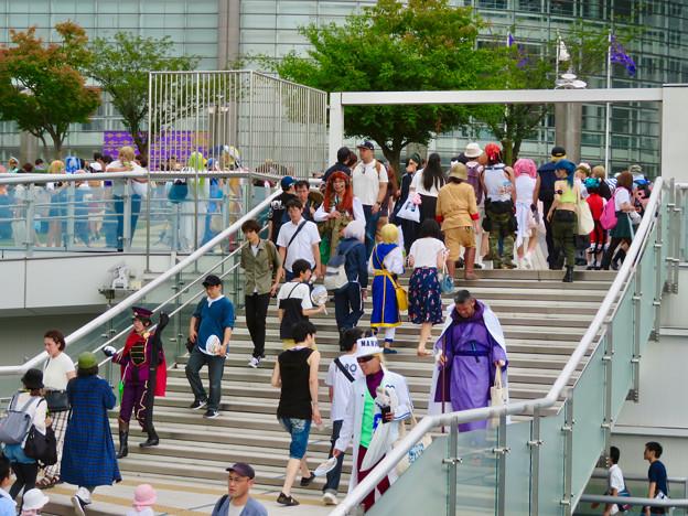 Photos: 世界コスプレサミット 2019 No - 5:沢山の人で賑わう会場