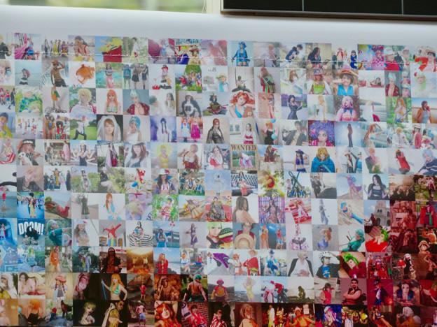 世界コスプレサミット 2019 No - 34:沢山のコスプレイヤーの方の写真で作ったワンピースモザイク写真