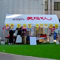 Photos: 矢場とん前の空き地は人工芝を敷いた広場に? - 3