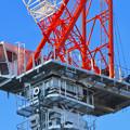 Photos: 名古屋栄の建設現場に設置されてる巨大クレーン - 3