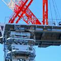 名古屋栄の建設現場に設置されてる巨大クレーン - 7