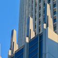 Photos: 下から見上げたセントラルタワーズの尖った部分 - 3