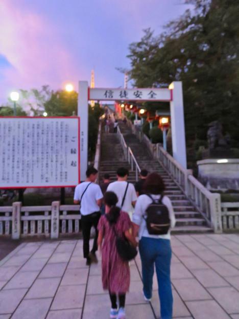 日本ライン夏まつり納涼花火大会の日の犬山成田山 - 5