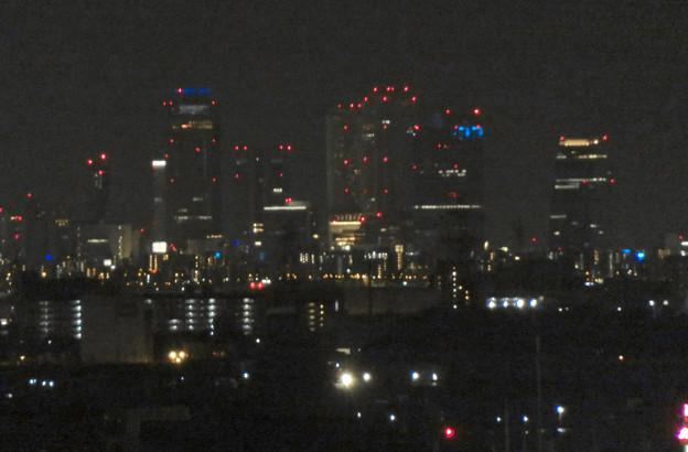 犬山成田山から見た夜景 - 18:名駅ビル群