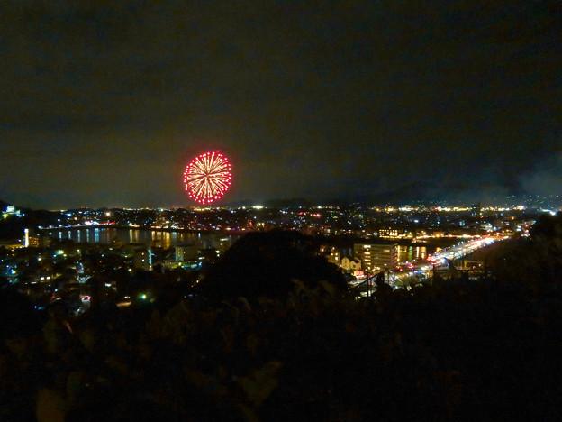 犬山成田山から見た日本ライン夏まつり納涼花火大会 2019の花火 - 29