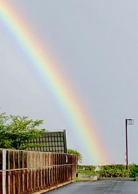 2重の虹が架かった、雨上がりの日(2019年8月14日) - 7