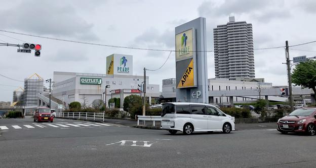 改修工事中のピアーレ(2019年8月15日) - 1