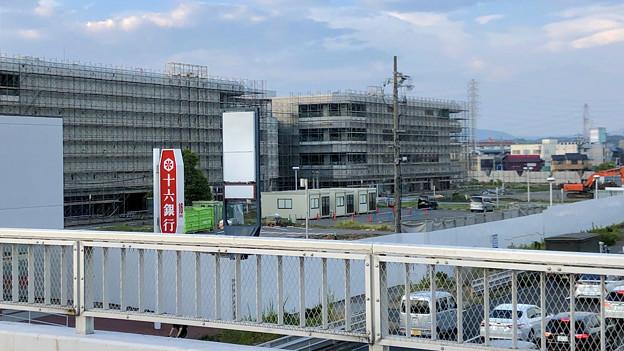 解体工事中の旧・ザ・モール春日井(2019年8月16日) - 22:マクドナルド ザ・モール春日井店の建物がなくなる