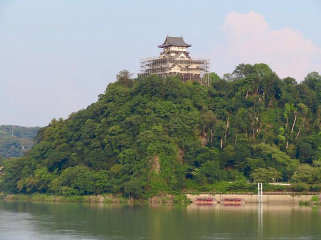 天守保蔵工事中の犬山城(2019年8月18日) - 32