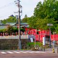 Photos: 三光稲荷神社前から見えた犬山城天守閣
