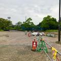 Photos: 桃花台線の桃花台中央公園撤去工事(2019年8月23日):工事部分のフェンスが大部分撤去 - 7
