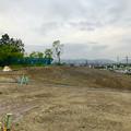 Photos: 桃花台線の桃花台中央公園撤去工事(2019年8月23日):工事部分のフェンスが大部分撤去 - 8