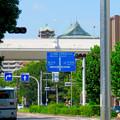名古屋高速越しに見えた愛知県庁の屋根 - 1