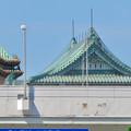 名古屋高速越しに見えた愛知県庁の屋根 - 2