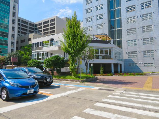 桜通久屋西交差点にあるこの辺りでは珍しい低階層の建物(レストランとギャラリー?) - 1