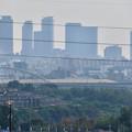 Photos: イオン守山店の屋上から見た景色 - 5:名駅ビル群と庄内川橋