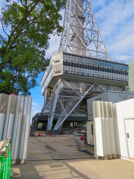 リニューアル工事中の名古屋テレビ塔(2019年9月7日) - 8