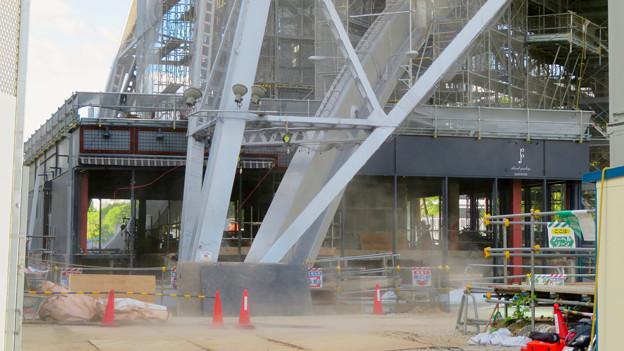 リニューアル工事中の名古屋テレビ塔(2019年9月7日) - 10