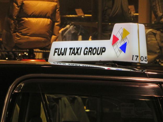 フジタクシーグループのタクシーに社会的有害企業「Uber」の文字 - 3
