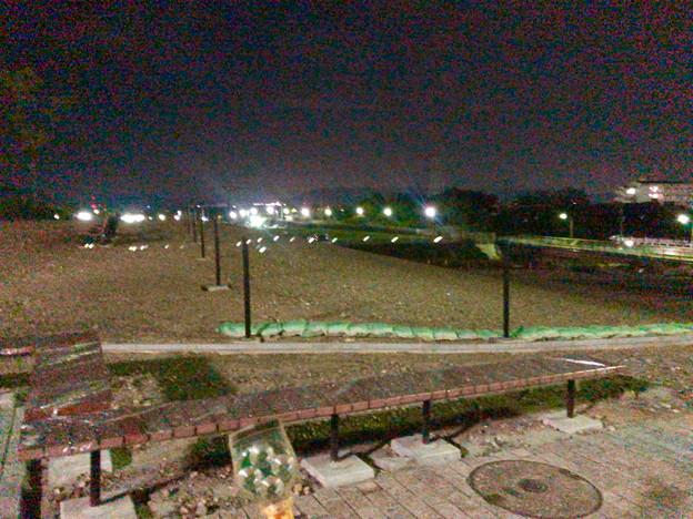 Photos: 桃花台線の桃花台中央公園撤去工事(2019年9月11日):柵が設置 - 2