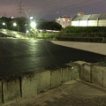 Photos: 桃花台線の桃花台中央公園撤去工事(2019年9月11日):車両基地に入る部分だった撤去場所の舗装 - 2