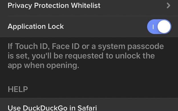 DuckDuckGoブラウザアプリ 7.27.0:TouchIDやFaceIDで起動時ロックが可能! - 1