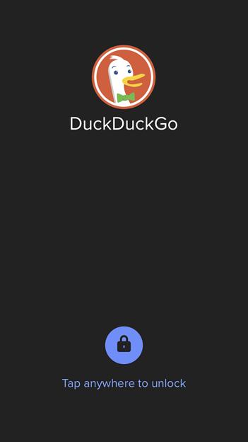 DuckDuckGoブラウザアプリ 7.27.0:TouchIDやFaceIDで起動時ロックが可能! - 4