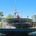 Photos: 錦通と久屋大通公園の噴水上彫像に「あいちヒトリエンナーレ」と書かれたTシャツが着せられる!? - 18