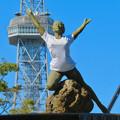 Photos: 錦通と久屋大通公園の噴水上彫像に「あいちヒトリエンナーレ」と書かれたTシャツが着せられる!? - 19