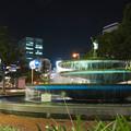Photos: 錦通と久屋大通公園の噴水上彫像に「あいちヒトリエンナーレ」と書かれたTシャツが着せられる!? - 24
