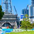Photos: リニューアル工事中の久屋大通公園名古屋テレビ塔付近(2019年9月16日) - 2