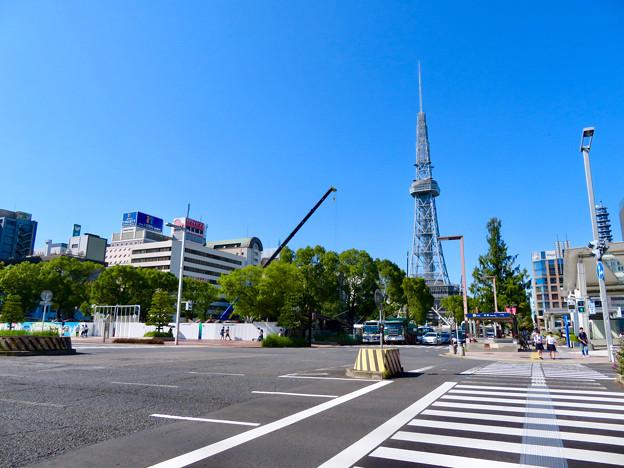 リニューアル工事中の久屋大通公園名古屋テレビ塔付近(2019年9月16日) - 4