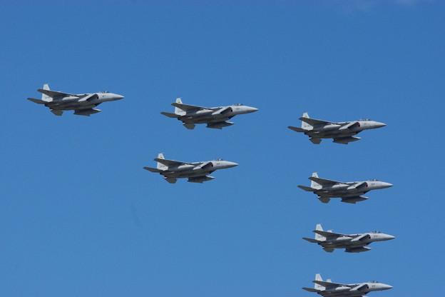 2018小松基地祭F-15Jの大編隊