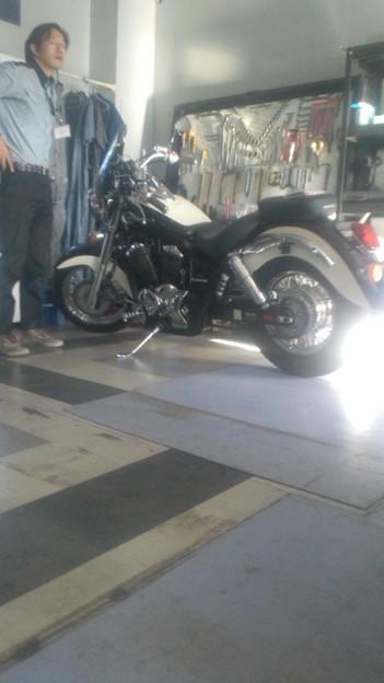 バイク王で査定するシャドーを目の前にDSの方が好きと言うわたくし。...