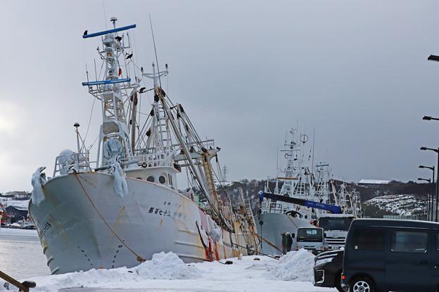漁船(オッター)の修理2
