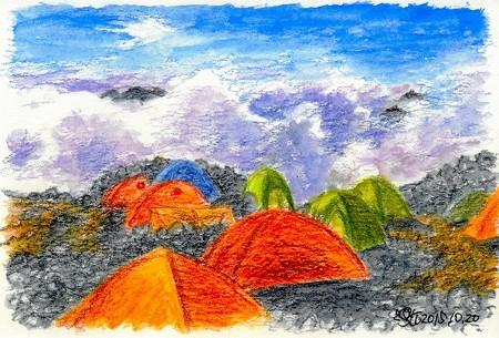 20151020南岳テン場