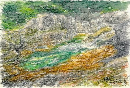 20180516石ヶ谷峡蛇食岩