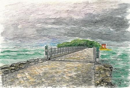 20181017青島(雨)