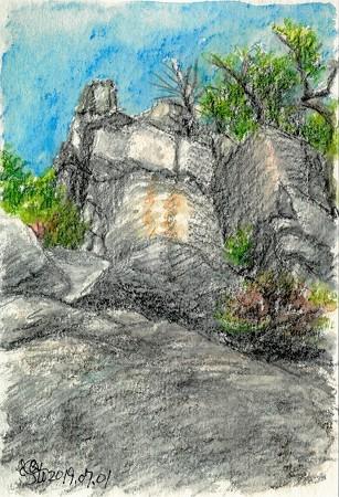 20190701日浦山地獄岩