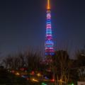 東京マラソン特別ライトアップ