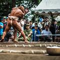 Photos: 筋肉相撲