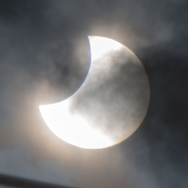 Photos: 部分日食