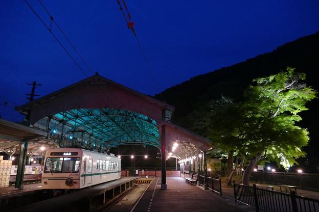 叡山電鉄 八瀬比叡山口駅とデオ711