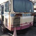 写真: 茨城交通@謎の廃車体
