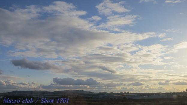 2018.01.24 の空 003  雲が芸をしています