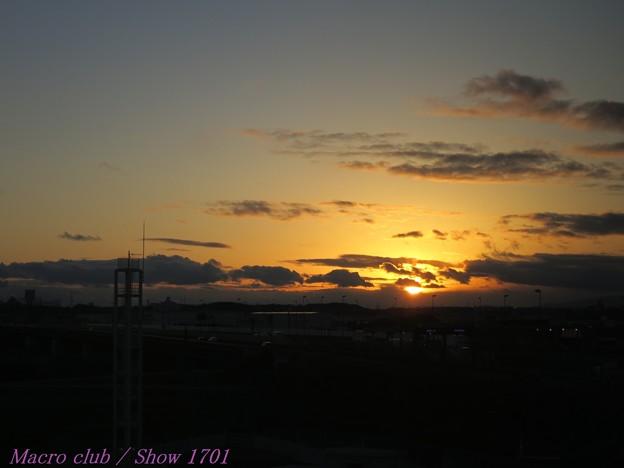 2018.01.24 の夕焼け 013 明日の約束