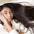 写真: 黒髪の天使