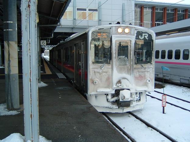140130 701系N32編成 秋田駅