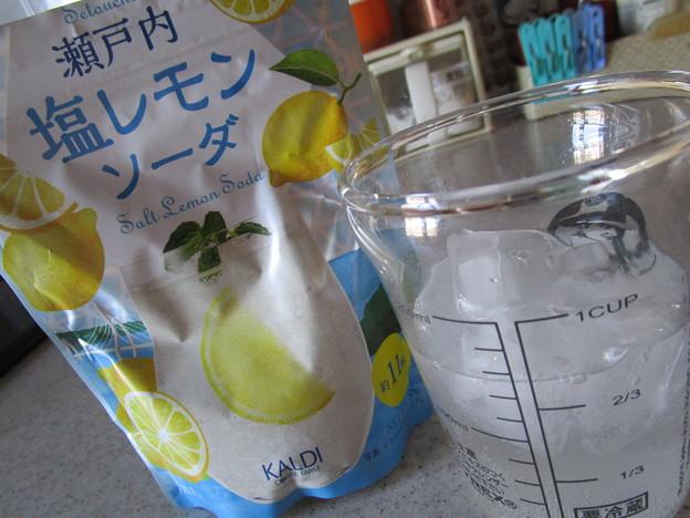 カルディオリジナル 瀬戸内塩レモンソーダ