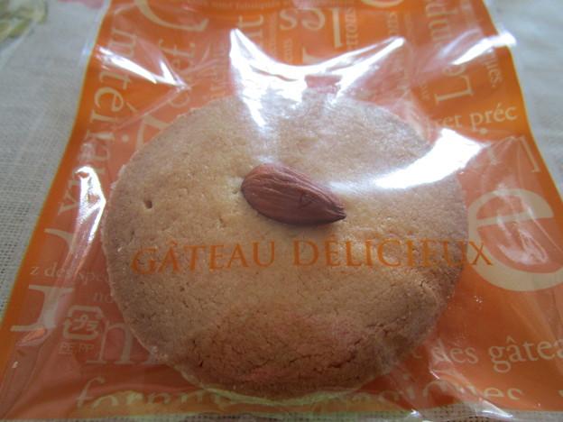アーモンド入り付きのクッキー